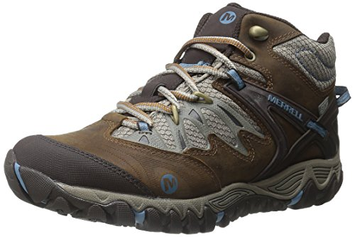 Merrell Women's All Out Blaze Mid Waterproof Hiking Boots