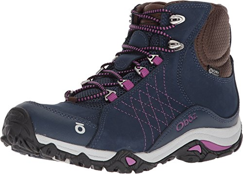 Oboz Womens Sapphire Mid B-Dry Waterproof Hiking Boot