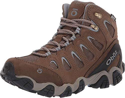 Oboz Womens Sawtooth II Mid B-Dry Waterproof Hiking Boot