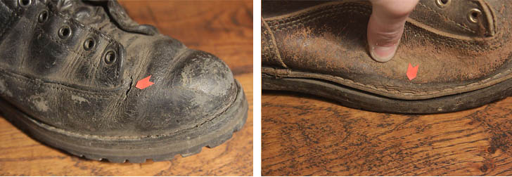 Check your boots in and out before hiking