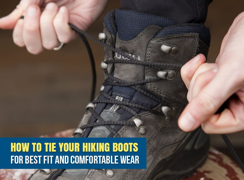 How to Tie Your Hiking Boots