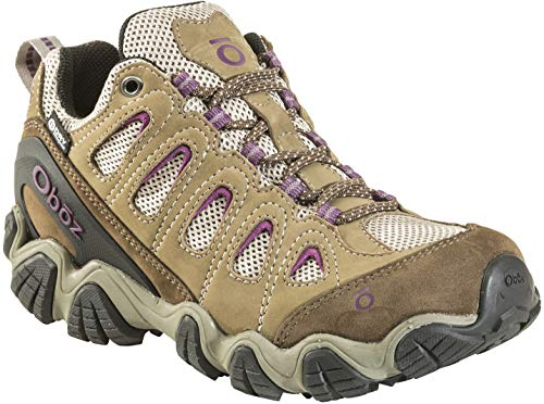 Oboz Sawtooth Ii Low B-Dry Hiking Shoe - Womens Violet