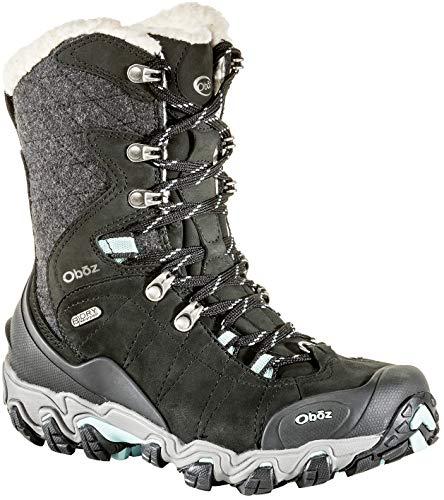"Oboz Women's Bridger 9"" Insulated B-Dry Waterproof Hiking Boots"