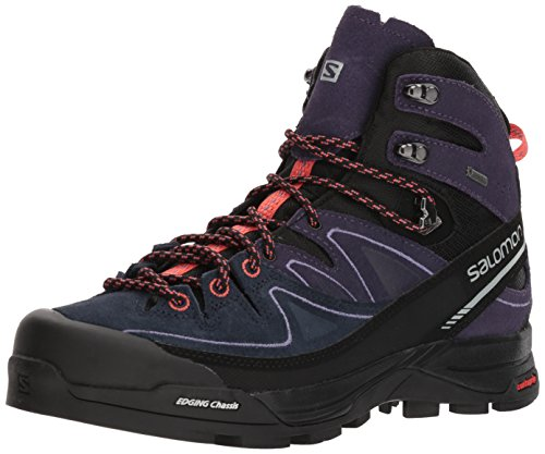 Salomon Womens X Alp Mid Leather Gtx Hiking Boot